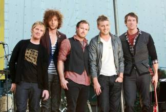 Ryan Tedder and Brent Zutzle with One Republic (Zimbio)